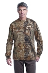 Men's Realtree® Long Sleeve Explorer 100% Cotton T-Shirt with Pocket