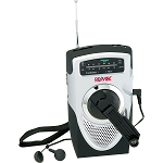 Dual-Powered AM/FM Weather Band Radio