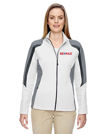 Strike Ladies Colour-Block Fleece Jacket