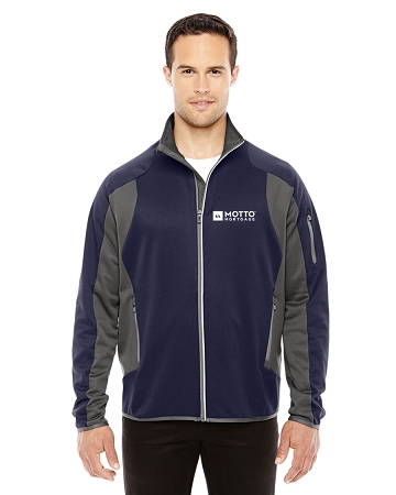 Men's Motion Interactive ColorBlock Performance Fleece Jacket - MOTTO