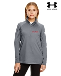 Ladies' Under Armour Tech Quarter-Zip - Graphite