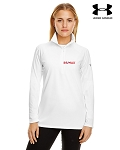 Ladies' Under Armour Tech Quarter-Zip - White