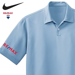 Nike Dri-Fit Polo (Men's) (Blue)
