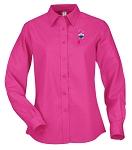 Ladies' Long Sleeve Easy Care Shirt - Awareness