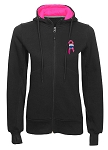Ladies' Full Zip Hooded Sweatshirt - Awareness