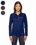 RADAR LADIES' HALF-ZIP PERFORMANCE LONG SLEEVE TOP