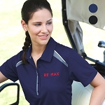 Ladies' quinn short sleeve polo