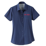 Ladies' sanchi short sleeve shirt