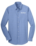 Windowpane Plaid Non-Iron Shirt