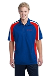 Men's Tricolor Micropique Sport-Wick® Polo