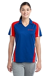 Ladies' Tricolor Micropique Sport-Wick® Polo