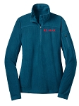 Ladies 1/4-Zip Grid Fleece Pullover - Eddie Bauer