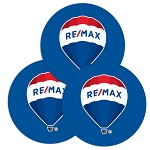 Round Deluxe Laminated Cork Coaster - Balloon