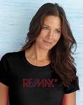 Ladies' Missy Fit T-shirt - RE/MAX Bling