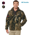 Columbia Men's Printed Full-Zip Steens Mountain Fleece Jacket
