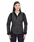 Ladies' Commute Three-Layer Light Bonded Two-Tone Soft Shell Jacket with Heat Reflec
