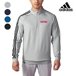 Men's Adidas 3 Stripe 1/4 Zip