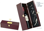 The Le Chateau Rosewood Wine Box - Personalized