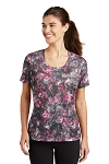 Ladies' Mineral Freeze Tee - Pink Raspberry