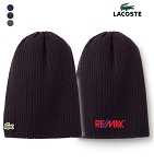 Lacoste Men's Ribbed Wool Beanie