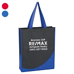 Non-Woven Tote With Accent Trim - Personalized