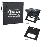 Collapsible Portable Grill With Carrying Bag - Personalized