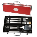 The Grill 5pc S/Steel BBQ Set