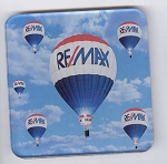 RE/MAX Balloon Acrylic Coaster