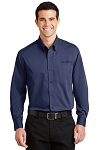 Men's Tonal Pattern Easy Care Shirt