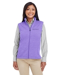 Ladies' Newbury Mélange Fleece Vest