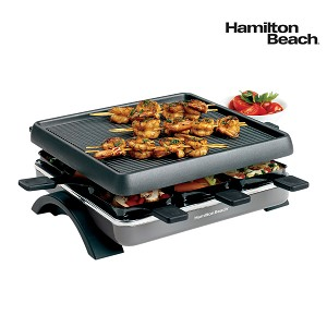 hamilton beach raclette party grill. Black Bedroom Furniture Sets. Home Design Ideas