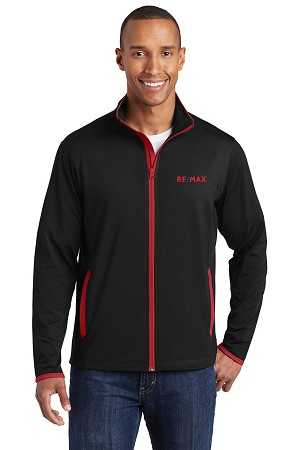 Men's Sport-Wick® Stretch Contrast Full-Zip Jacket