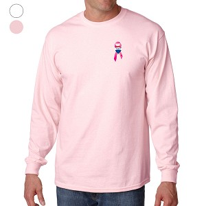Adult Ultra Cotton Long Sleeve T-Shirt  - Awareness