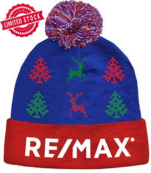 The RE/MAX Holiday Beanie