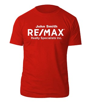 REMAX Tshirt (Red) - Personalized