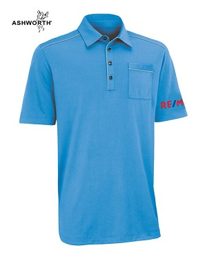 Ashworth Men's Performance Soft Touch Pocket Polo