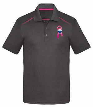 Men's Contrast Sports Shirt - Awareness