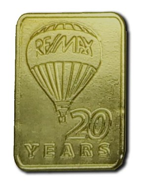 Gold Pin (20 Years)