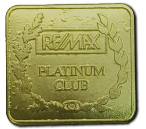 Gold Pin (Platinum Club)
