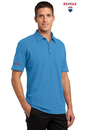 Modern Stain-Resistant Pocket Polo