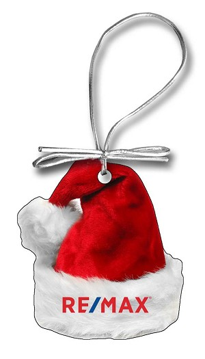 Santa Hat Holiday Ornament