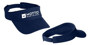 Deluxe Blended Chino Twill Visor - MOTTO