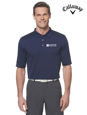 Men's Callaway Opti-Vent Polo - MOTTO