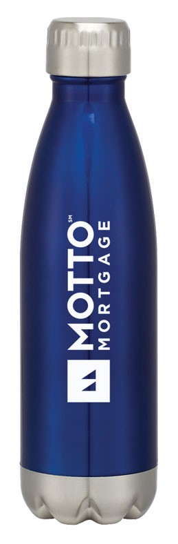 16 Oz. Swig Stainless Steel Bottle - MOTTO