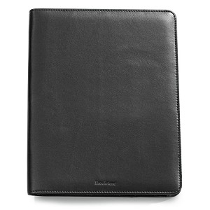 Brookstone Leather iPad Stand