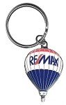 RE/MAX Balloon Metal Keychain