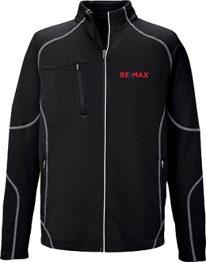 Gravity Men's Performance Fleece Jacket - Black