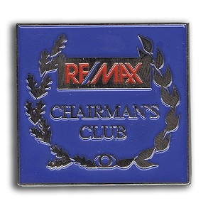Chairman's Club Pin 1 3/8""