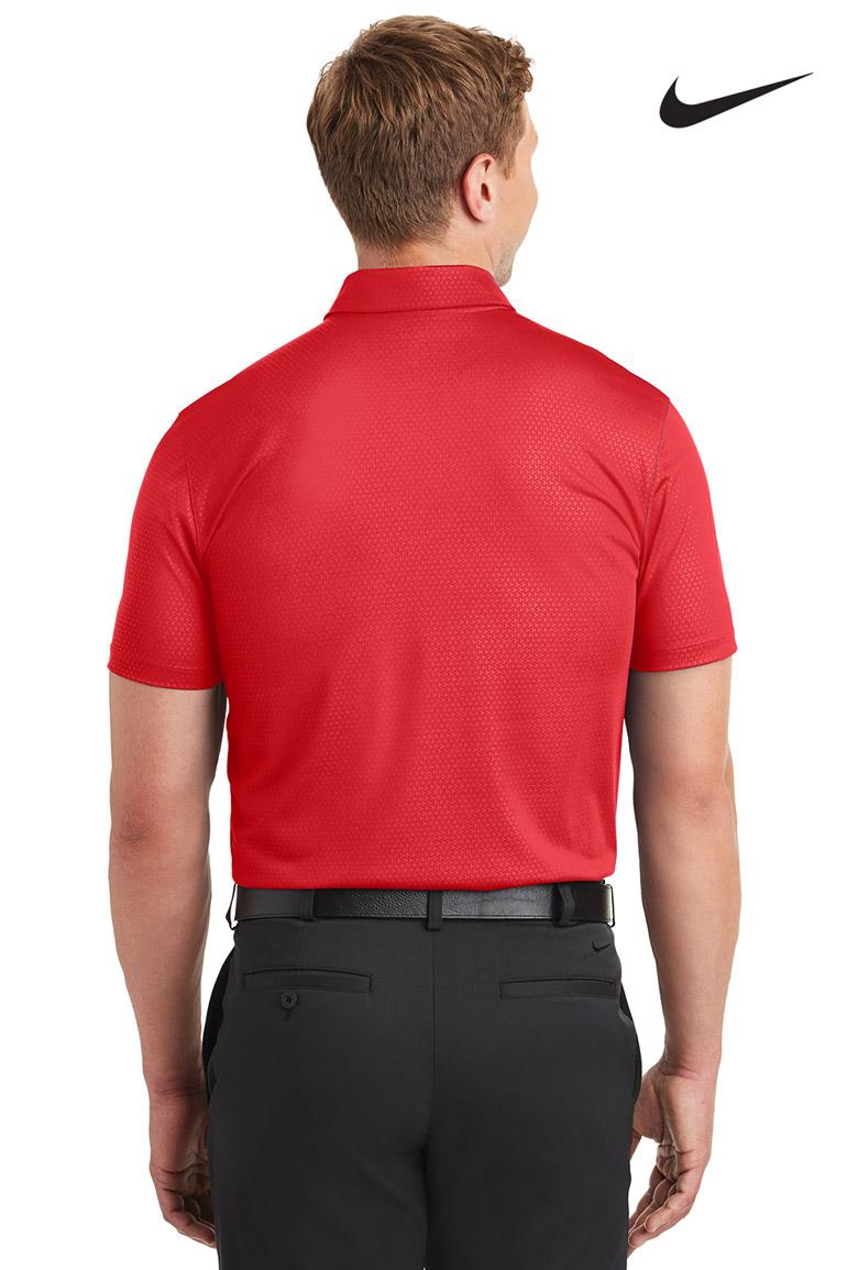 214e62560c43 Nike Golf Men s Dri-FIT Embossed Tri-Blade Polo