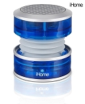 iHome Rechargeable Mini Speaker, Blue